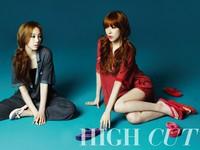 SNSD's Taeyeon, Tiffany для High Cut Vol. 76