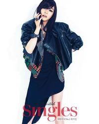 SNSD's Tiffany для Singles September 2011