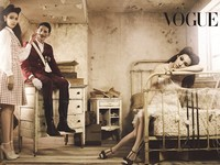 SNSD's Sooyoung, Tiffany для Vogue Korea December 2011