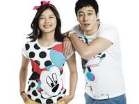 Kim Yoo Jung, Yeo Jin Goo, So Ji Sub, Shin Min Ah для Giordano Disney T-shirts