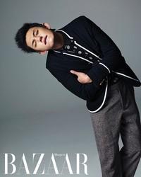Yoo Ah In для Harper's Bazaar November 2011