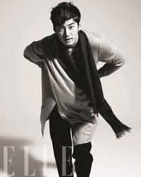 Yoon Kye Sang для Elle Korea September 2011