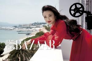 Tang Wei Для Harper's Bazaar 09/2011