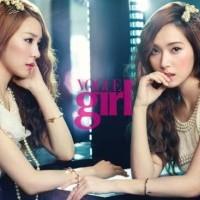 Джессика и Тиффани из Girls' Generation стали моделями Chanel для модного журнала 'Vogue Girl'