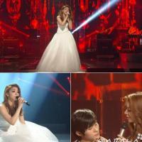 Эйли удивила зрителей выступлением в 'свадебном платье' в шоу 'Бессмертная Песня 2′