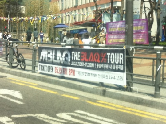 THE BLAQ% TOUR