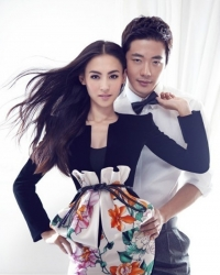 Cecilia Cheung, Kwon Sang Woo Для Marie Claire 2012