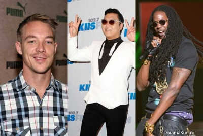 PSY with Chainz and Diplo