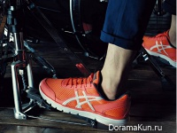 Asics G1 Orange Shoes