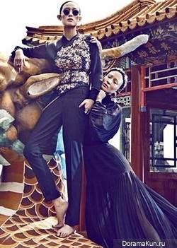 Chen Man для Madame Figaro 2012