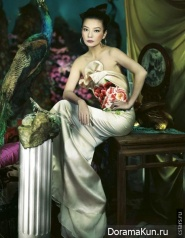 Zhao Wei для Harpers Bazaar China 2011