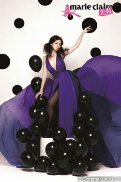 Vivian Hsu для Marie Claire China May 2012
