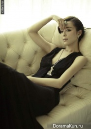 Zhang Jing для Old Style Photogalley 2012