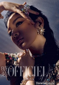 Huang Yi для L'Officiel China 2012