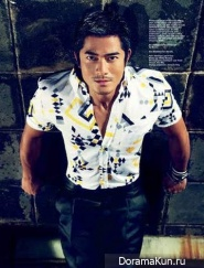 Aaron Kwok для Harper's Bazaar Man Singapore March 2010