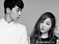 Akdong Musician, Nam Joo Hyuk and Lee Ha Eun для High Cut Vol.128
