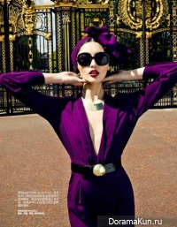 Bonnie Chen для Harper's Bazaar China июнь 2012