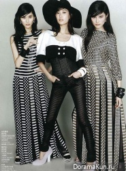 Ming Xi, Shu Pei and Sui He для Elle China March 2013
