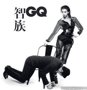 Lin Chiling для GQ Magazine August 2011