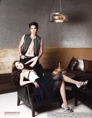 Nadech Kugimiya & Aum Patcharapa для Praew January 2012