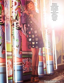 Rawiwan Bunprachom для L'Officiel Thailand November 2012
