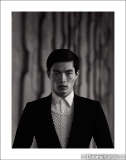 Satoshi Toda для Photoshoot by Richard Pier Petit