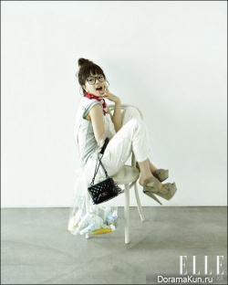 Seo Woo для Elle Korea June 2010