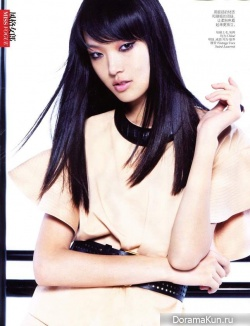 Tian Yi для Vogue China January 2013