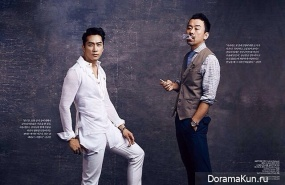 Song Seung Heon и Kim Dae Woo