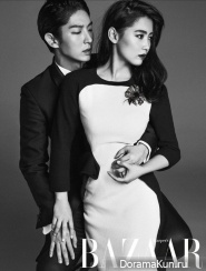 Lee Jun Ki and Nam Sang Mi