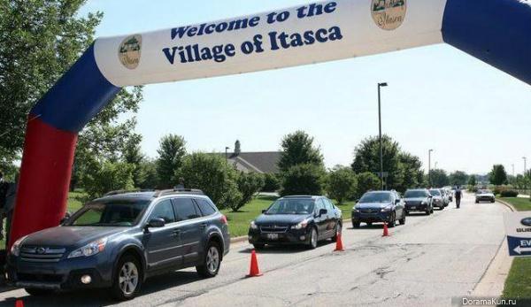 Subaru устанавливает новый мировой рекорд