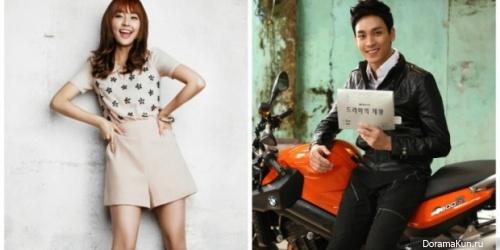 Чжон Ю Ми и Чхве Тхэ Джун