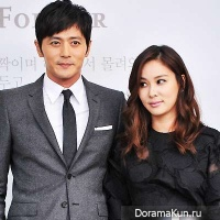 Jang Dong Gun and Go So Young