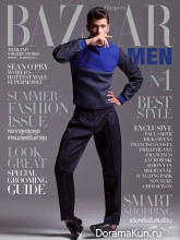 Son Songpaisarn для Harper's Bazaar January 2014
