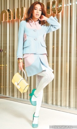 Annie Chen для Miu Miu SS collection 2014