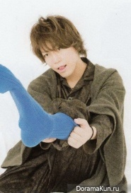 Kamenashi Kazuya для TV Fan CROSS October 2013