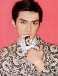 Aaron Yan и Li Yu Fen for S-POP June 2014