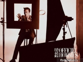 Deng Chao для L'Officiel Hommes February 2014
