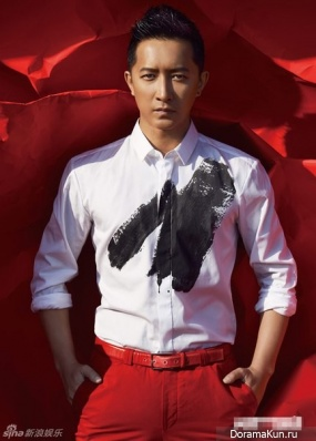 Han Geng для Men's Uno May 2014