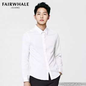 Song Joong Ki для Mark Fairwhale Jeans 2016 CF Extra