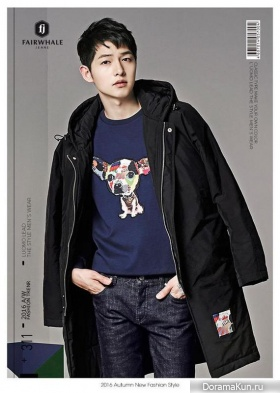 Song Joong Ki для Mark Fairwhale Jeans 2016
