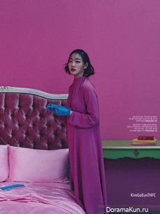 Kim Go Eun для W Korea March 2017
