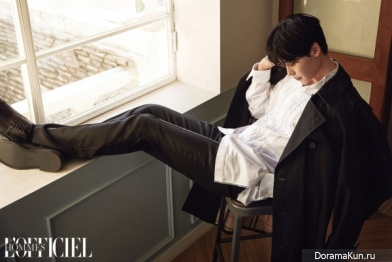 Lee Jong Suk для L'Officiel Hommes March 2017