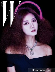 Ha Ji Won для W Korea January 2017 TITLE