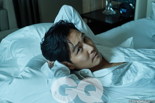 Lee Jung Jae для GQ July 2017F