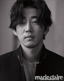 Yoon Kye Sang для Marie Claire March 2017