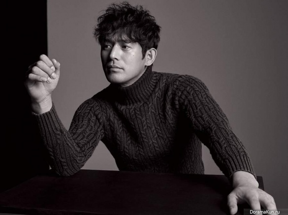 Oh Ji Ho для Harper's Bazaar October 2017
