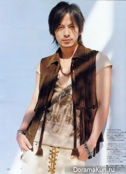 Junichi Okada для Men'S Non No May 2007