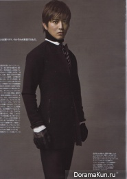 Takuya Kimura для NON-NO October 2011