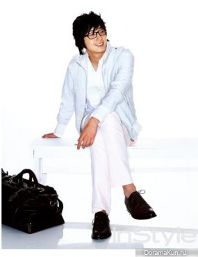 Jung Il Woo для In Style June 2007